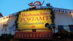 Weihnachtspostamt auf dem Hildesheimer Weihnachtsmarkt