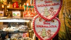 Süße Leckereien auf dem Hildesheimer Weihnachtsmarkt © Lars Griebner