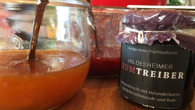 Rum aus Hildesheim als Zutat im Fruchtaufstrich
