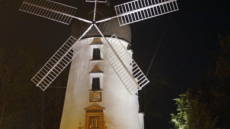 """Die Mühle """"Lady Devorgilla""""."""