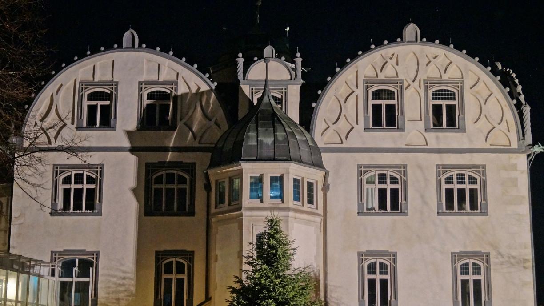 Gebäudeteil des Gifhorner Schlosses.