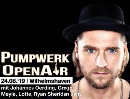 Pumpwerk OpenAir mit u.a. Gregor Meyle und Johannes Oerding
