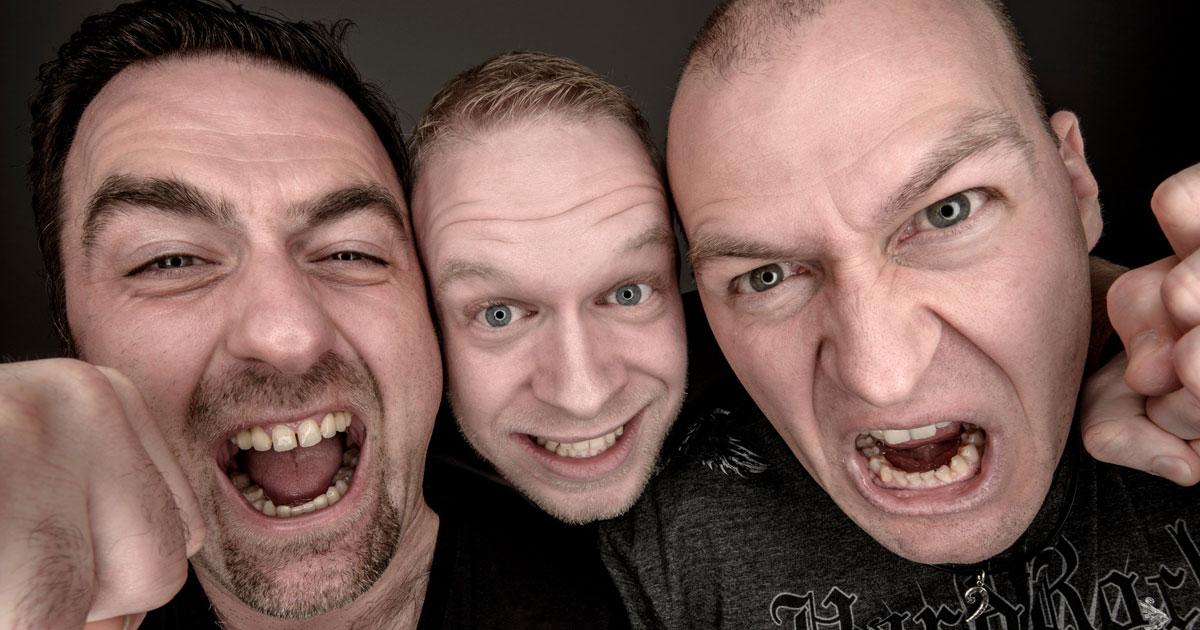 Christian, André und Thorsten sind CAT Power Rock (c) CAT Power Rock