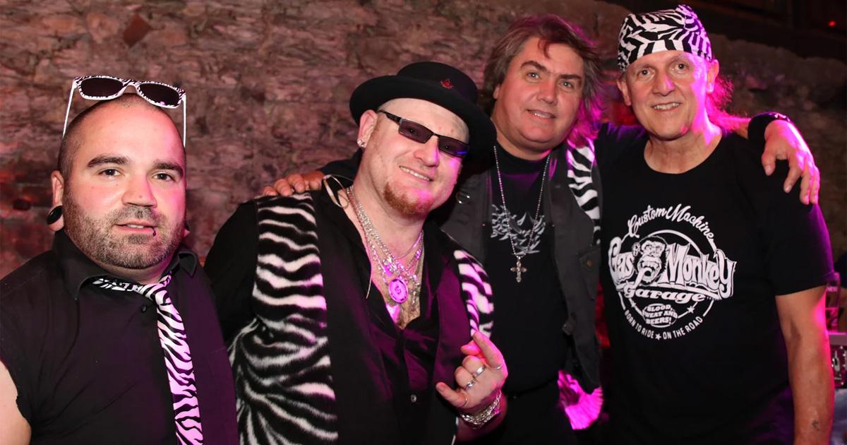 Die Rocker von Rockhead mischen die Aftershowparty auf (c) Rockhead