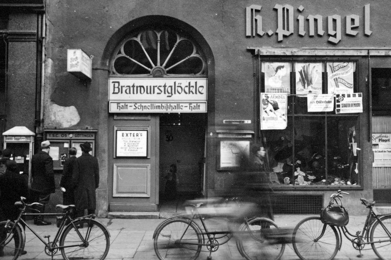 So hat alles angefangen im Bratwurst-Glöckle, dem Kult-Imbiss in Göttingen.