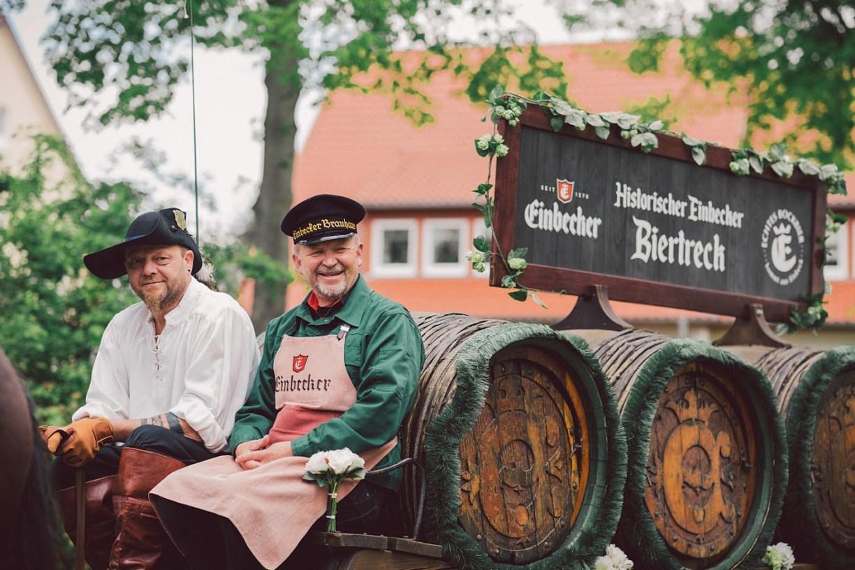 Historischer Einbecker Biertreck         ©Einbecker Brauhaus AG