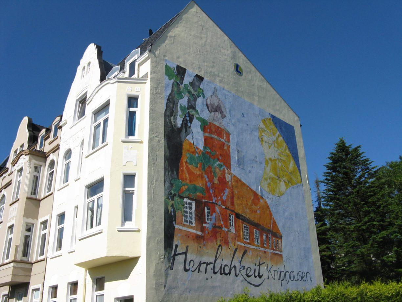 Wandgemälde Burg Kniphausen