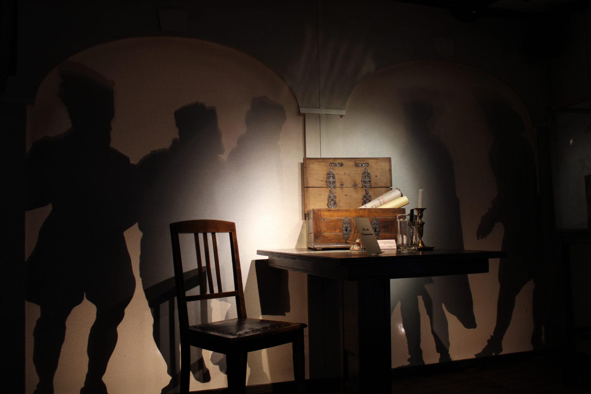 Zunftmuseum im OG des Domherrenhauses Verden