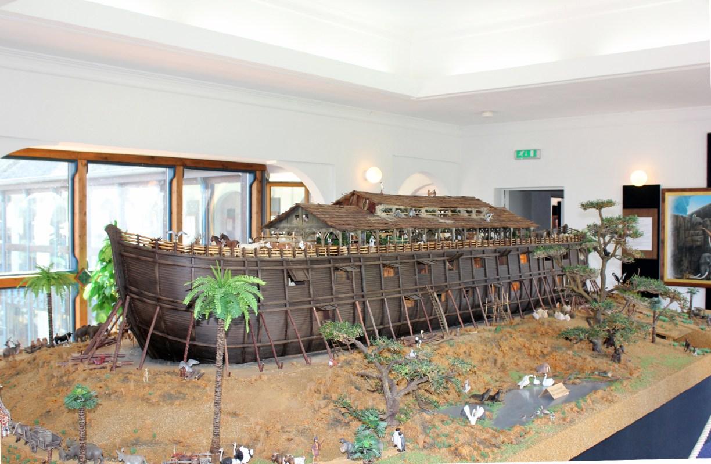 Modell der Arche Noah im Gifhorner Glocken-Palast