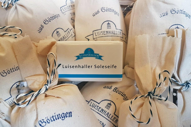 Souvenirs: Soleseife aus Göttingen