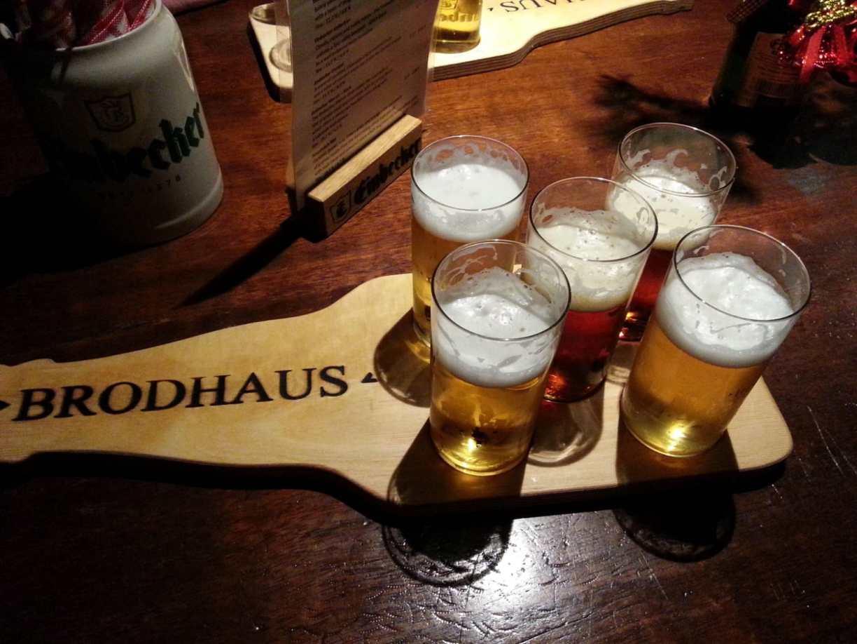 Bierprobe im Einbecker Brodhaus