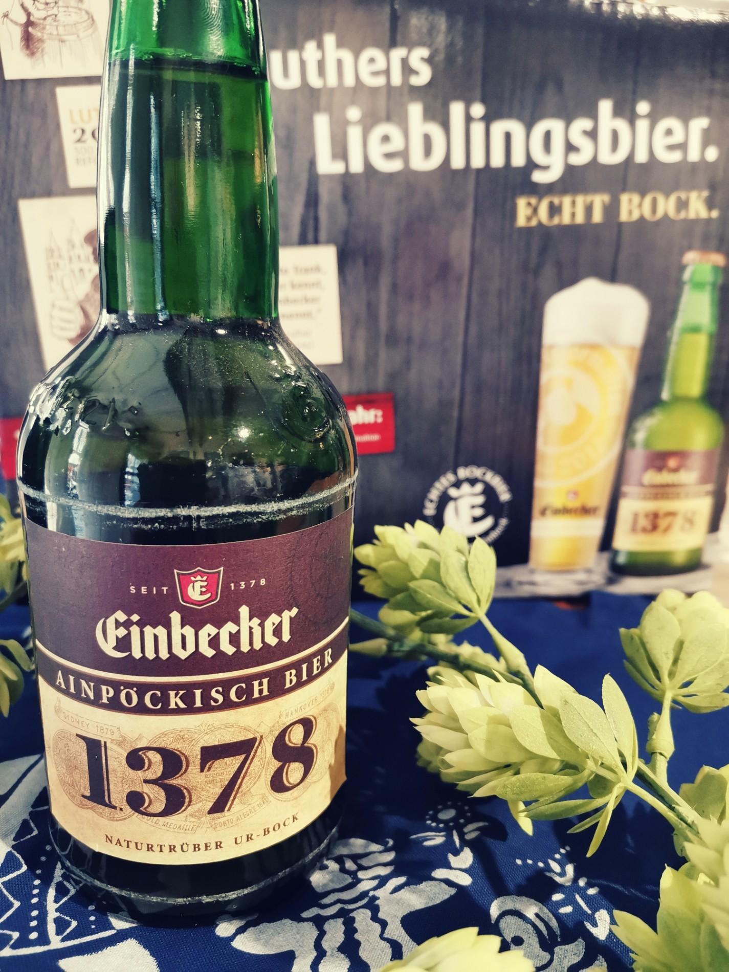 "Flasche ""Ainpöckisch Bier"""
