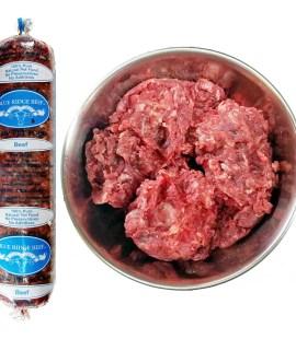 blue ridge beef dogs raw