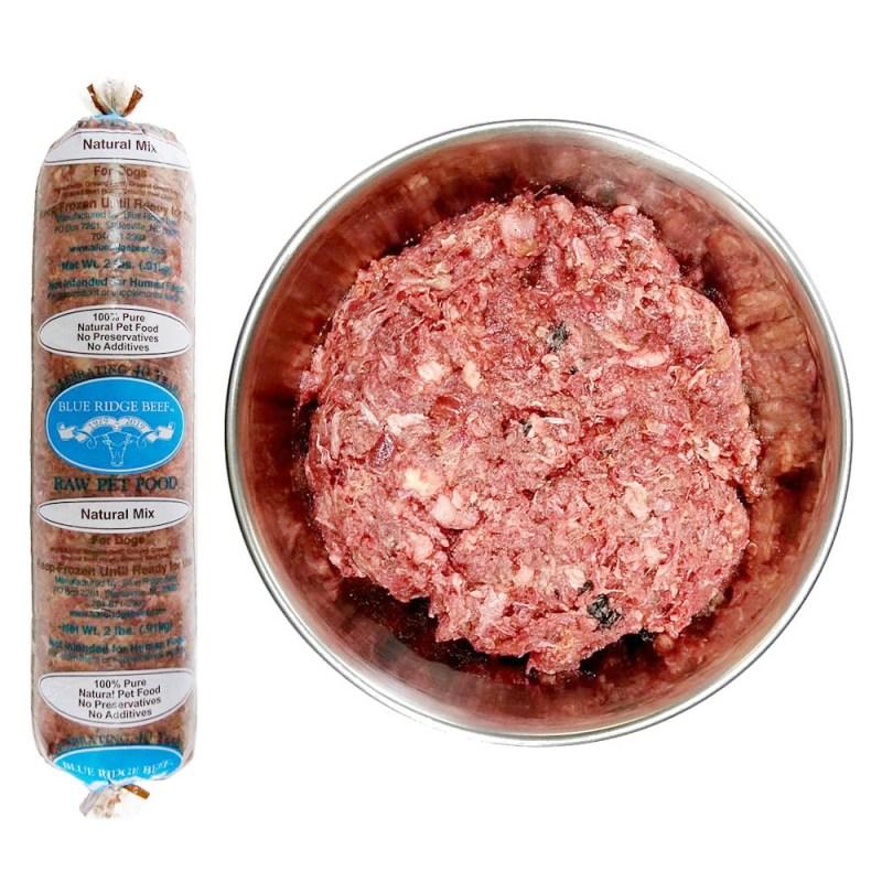 blue ridge beef natural mix raw