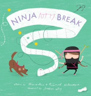 ninja+potty+break