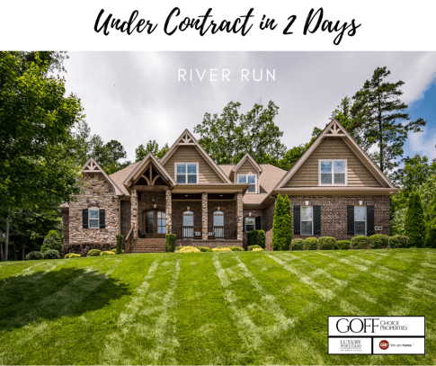 Under Contract in 2 Days