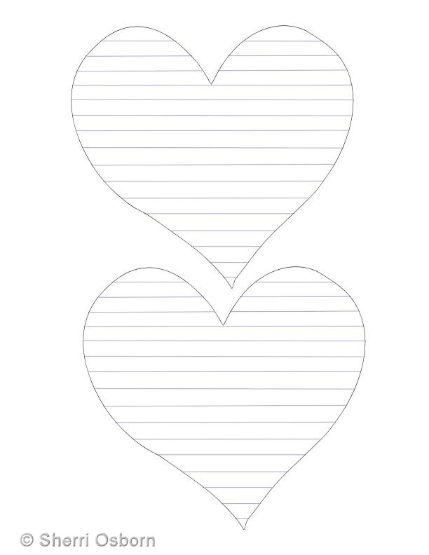 """Search Results for """"Lined Heart Template"""""""