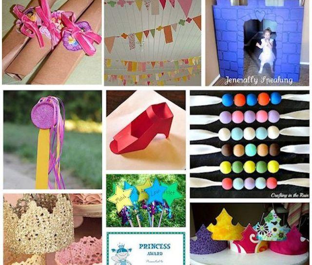Diy Princess Party Ideas