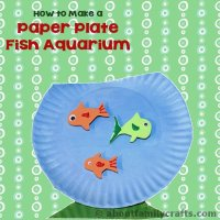 Paper Plate Fish Aquarium  About Family Crafts