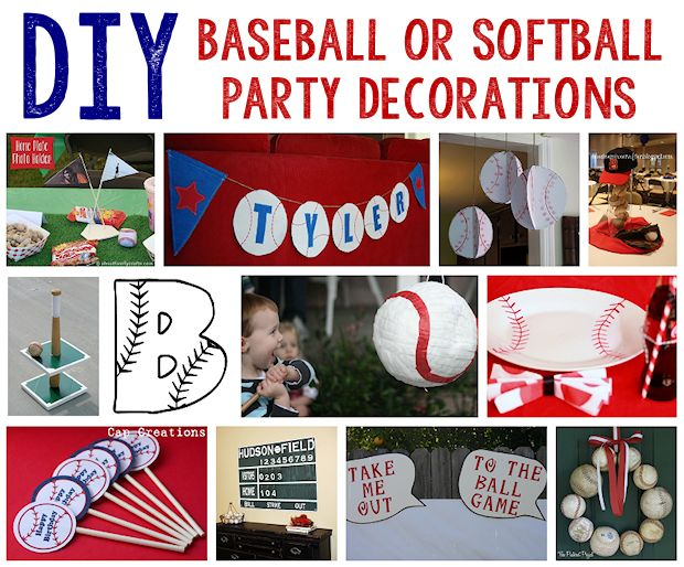 Image Of Baseball Party Supplies Decorations