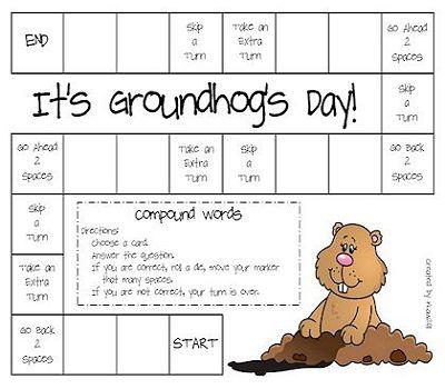 Groundhog Day Worksheets Printable