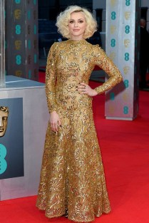 Fearne Cotton in a 1980 Scaasi gown from WilliamVintage.