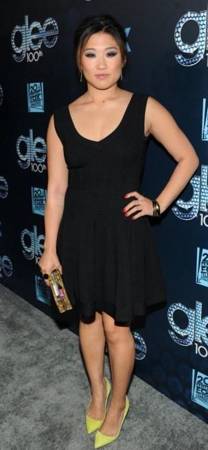 Jenna Ushkowitz Celebrate Glee's 100th Episode!