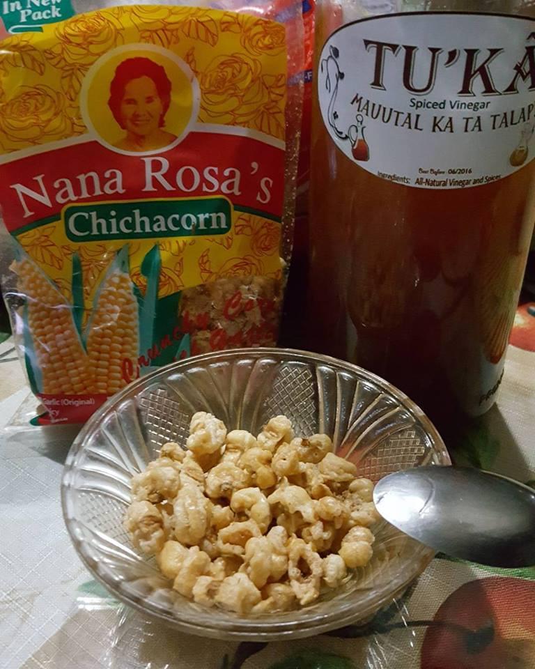Ilocano chicacorn & spiced vinegar
