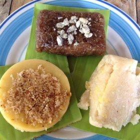 Biko, Nilupak & Kalamay na Mais