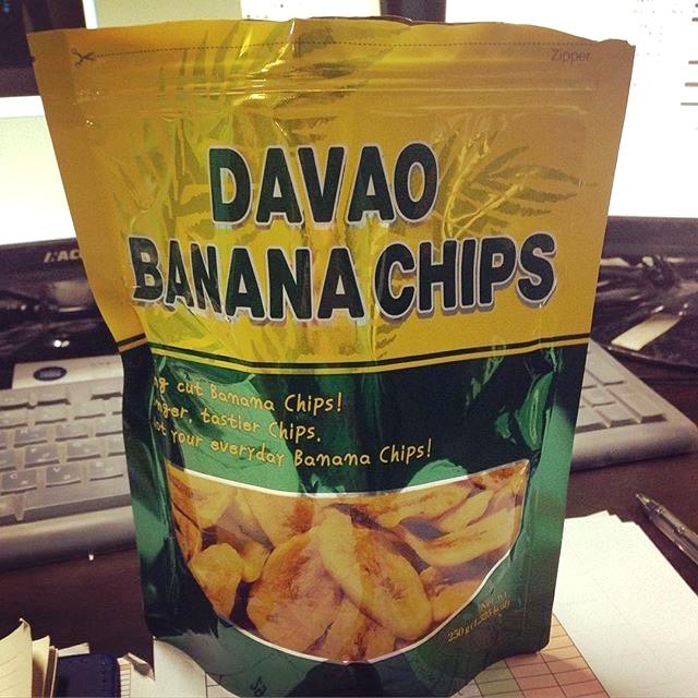 Davao Banana Chips 250g