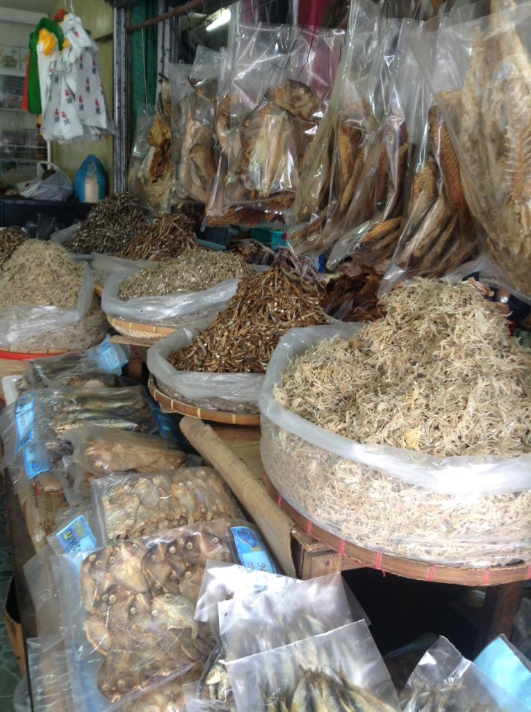 Dried Fish on Bilao