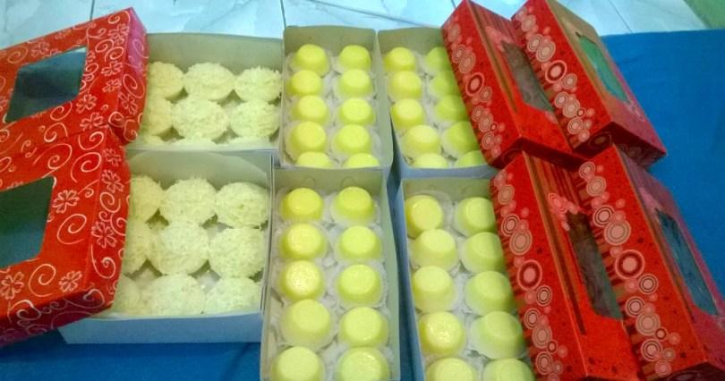 Nesha's Boxes of Puto (Flan)