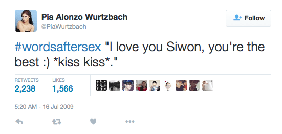 Miss Universe Pia Wurtzbach's Words After Sex Tweet