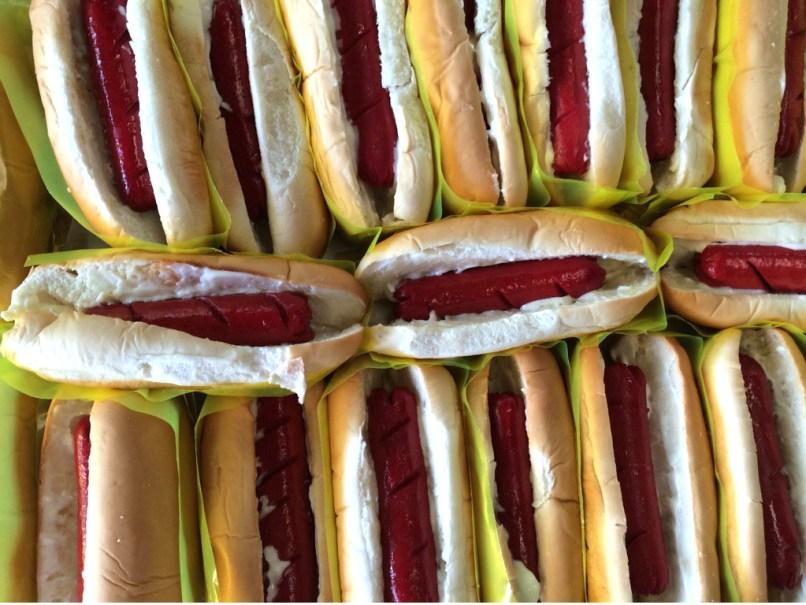 Tender Juicy Hotdog