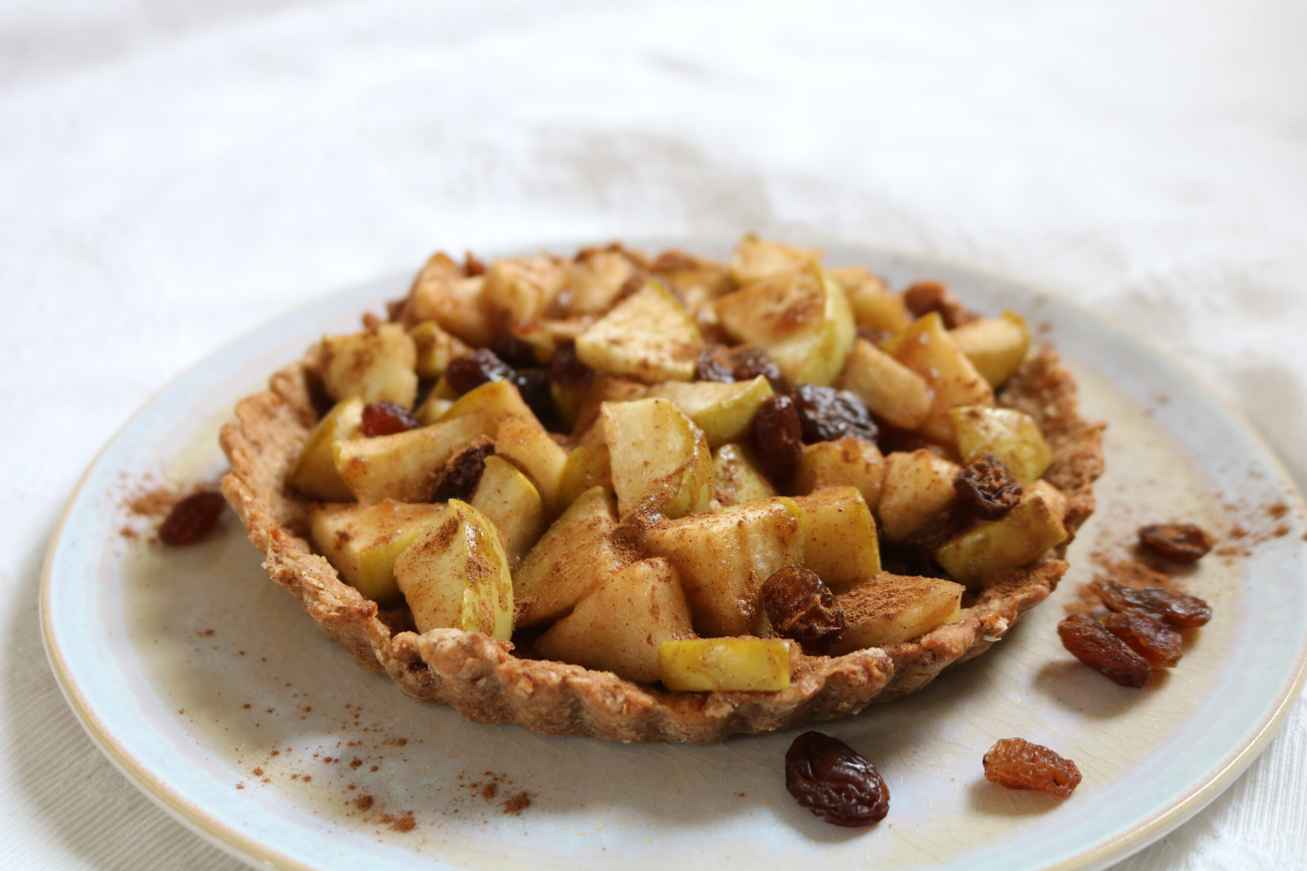 Simplified quick apple pie