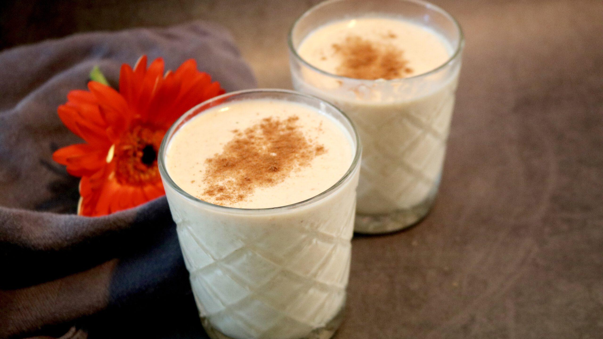 Cauliflower Vanilla Smoothie