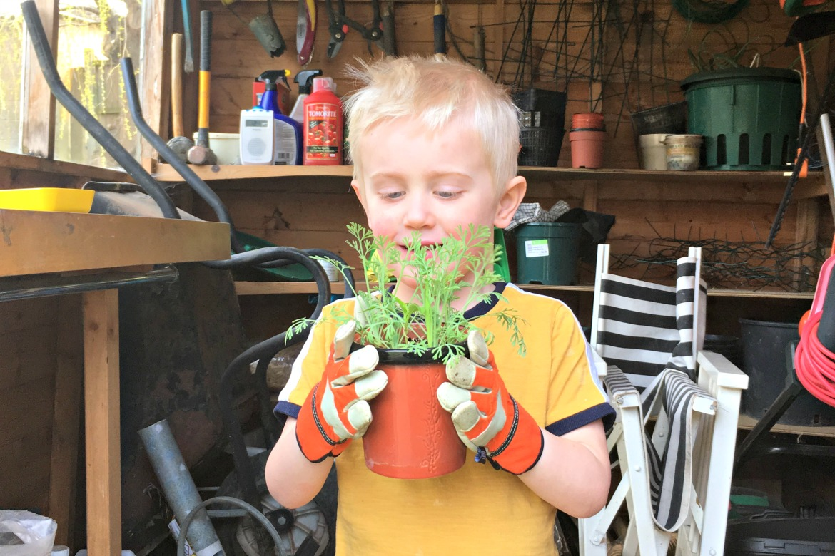 Gardening is vital for the environment, and there are many benefits to getting children interested. It's proven that gardening is a healthy way for kids to learn and have fun. Research also suggests that children will develop a greater interest in healthy eating if they get to grow their own vegetables.
