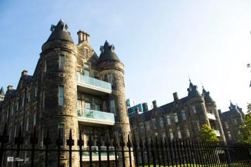 Castle-like housing