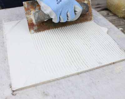 how to lay mosaic tile sheets about