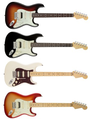 American Deluxe Stratocaster® HSS Shawbucker   About Guitars