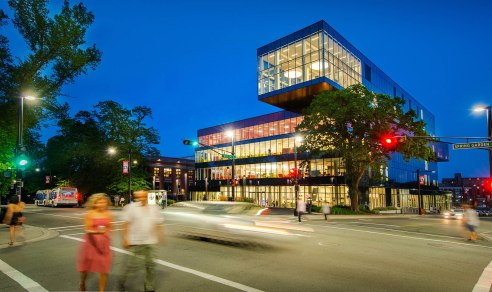 The Halifax Central Library is a great free activity