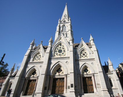 St. Mary's Basilica in Halifax, Nova Scotia is a great free activity