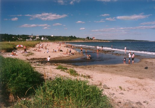 Bayswater Beach in Nova Scotia