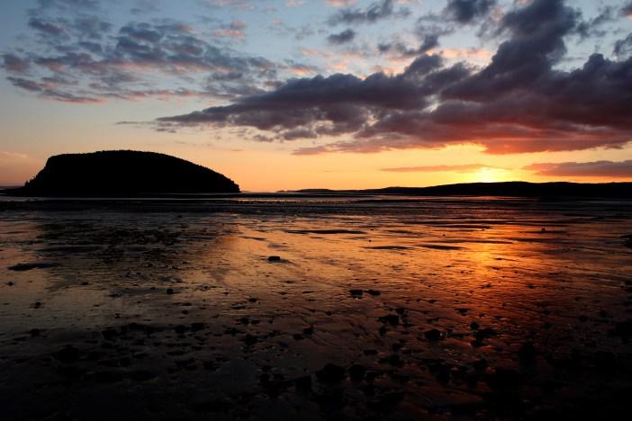 Sunset in Five Island, Nova Scotia
