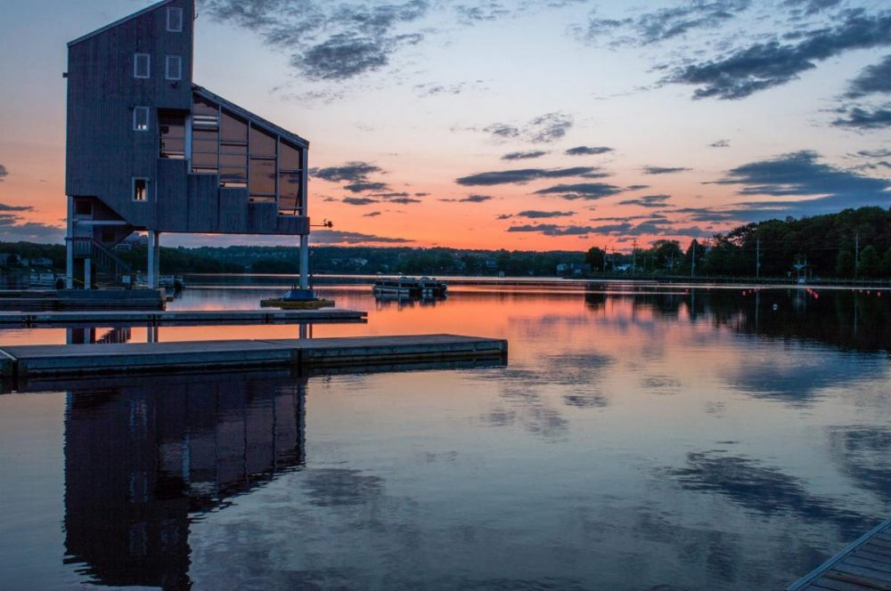Sunset in Dartmouth, Nova Scotia
