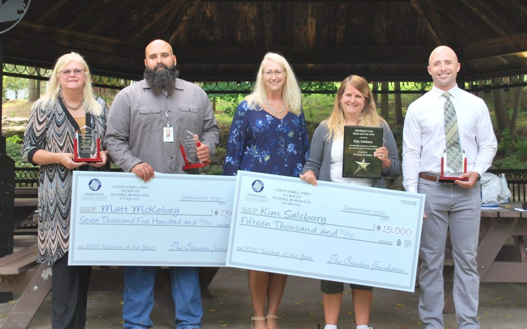 Four Educators Receive Teacher of the Year Awards