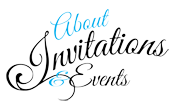Custom Party Invitations and Calligraphy Services Boca