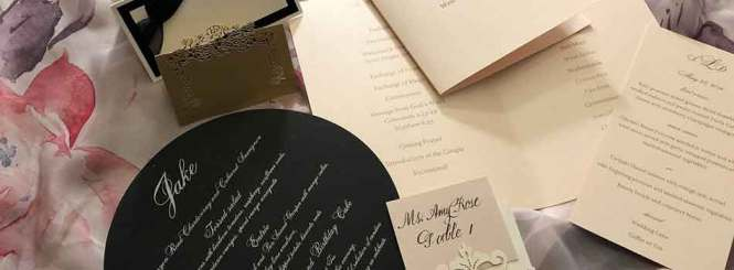 Custom Party Invitations And Calligraphy Services Boca Raton