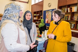 Lauren Booth on Visit My Mosque Experience