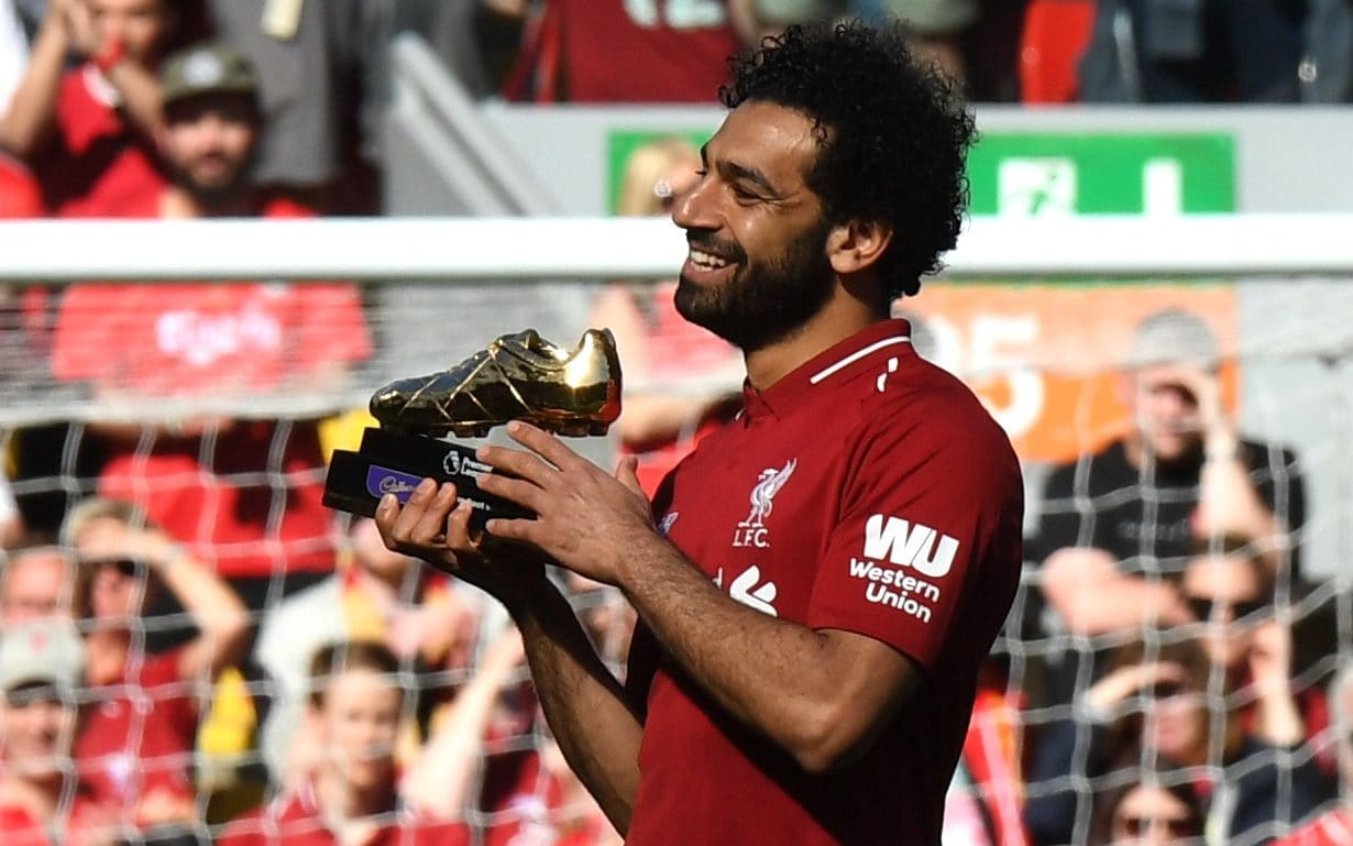 Image result for mohamed salah epl golden boot